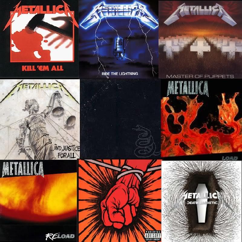 All Metallica Album Covers | Foto Bugil 2017