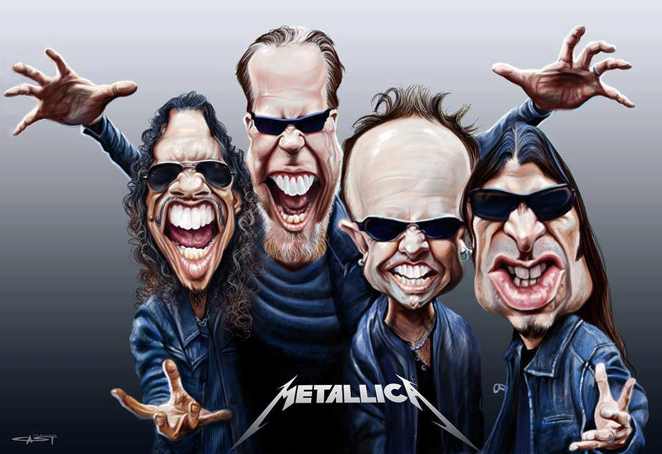 Any Metallica fans in here? Aw shit, stupid question ...