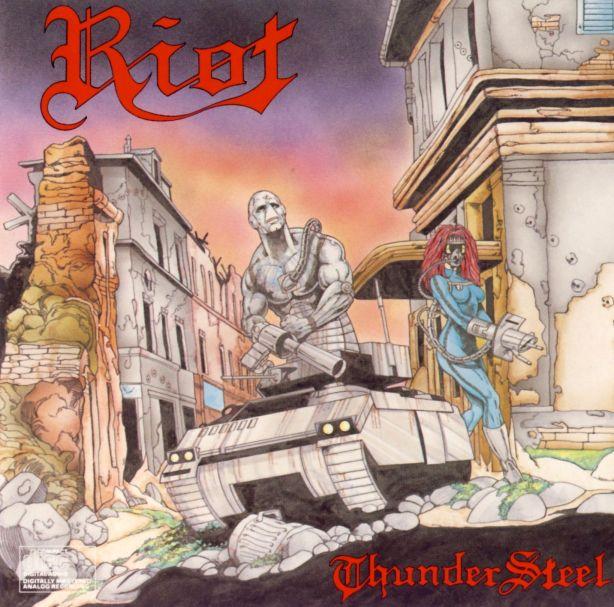 Riot - Thundersteel - Front